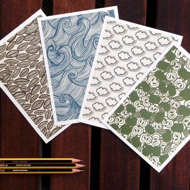Pack of 4 cards